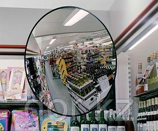 Зеркало противокражное внутреннее Д= 600 mm