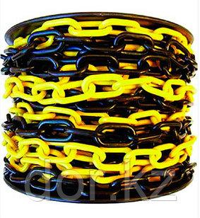 Цепь черно желтая 8 мм +77079960093