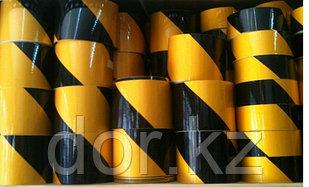 Лента световозвращающая черно-желтая 10 см