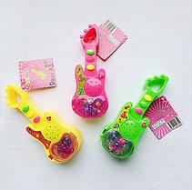 Игрушка с конфетами Гитара 5 гр (12 шт. в упаковке)