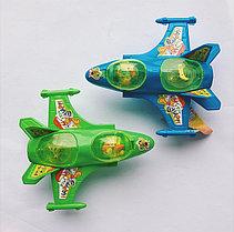 Игрушка с конфетами Самолет 8 гр (6 шт. в упаковке)