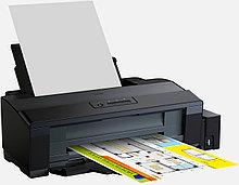 Принтер Epson L1300 + Сублимационные  чернила 100Х4  + бумага + ICC Профиль