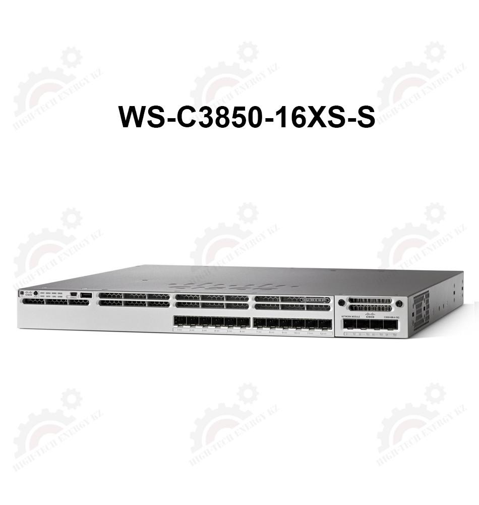 Cisco Catalyst 3850 16 Port 10G Fiber Switch IP Base