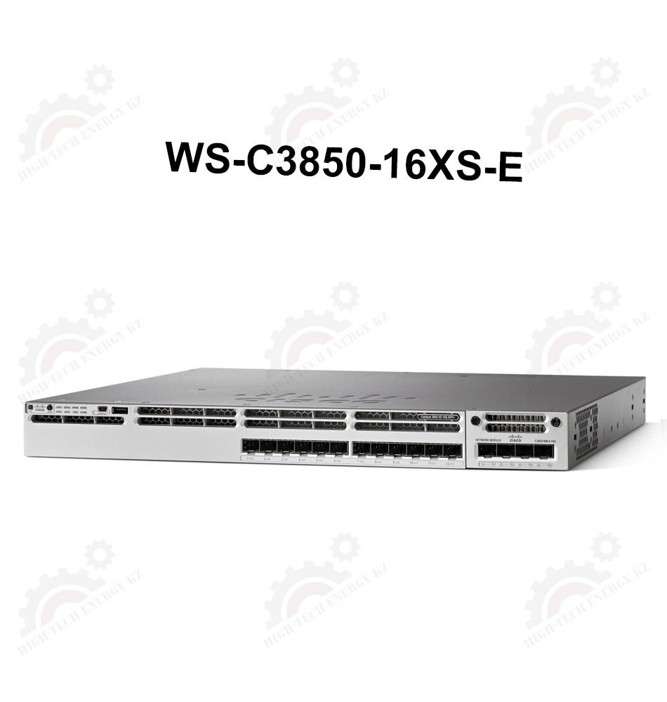 Cisco Catalyst 3850 16 Port 10G Fiber Switch IP Services