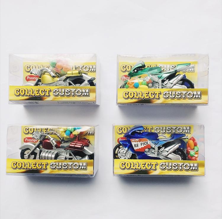 Игрушка с конфетами Мотоцикл 10 гр (12 шт. в упаковке)