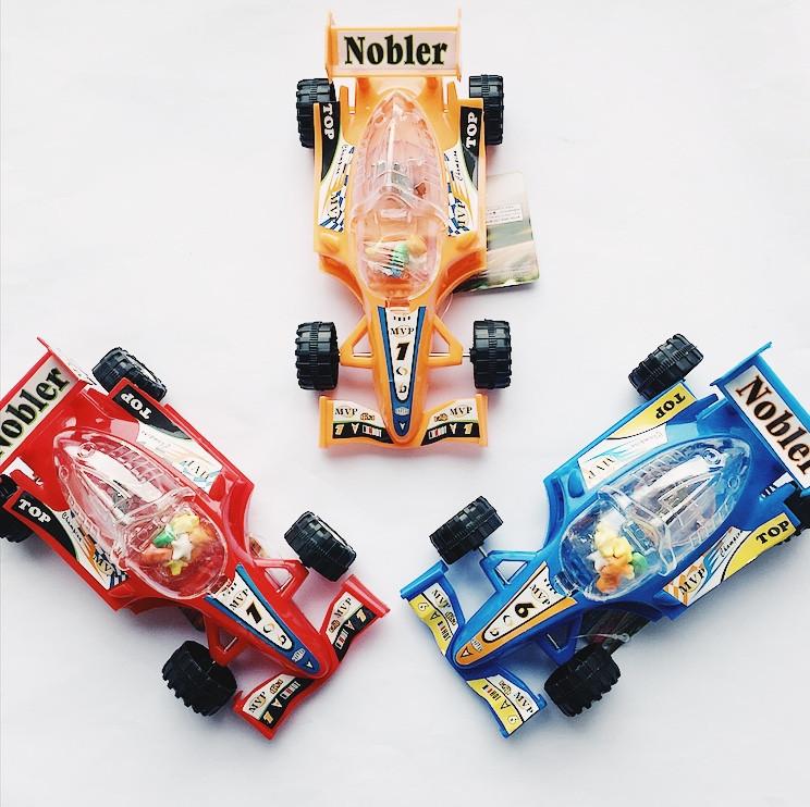 Игрушка с конфетами Машинка Формула 4 гр (6 шт. в упаковке)