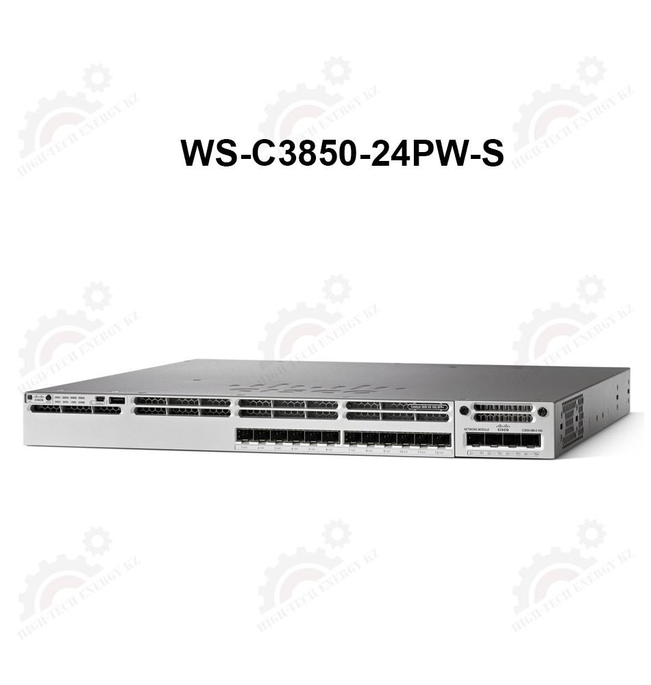 Cisco Catalyst 3850 24 Port PoE with 5 AP license IP Base