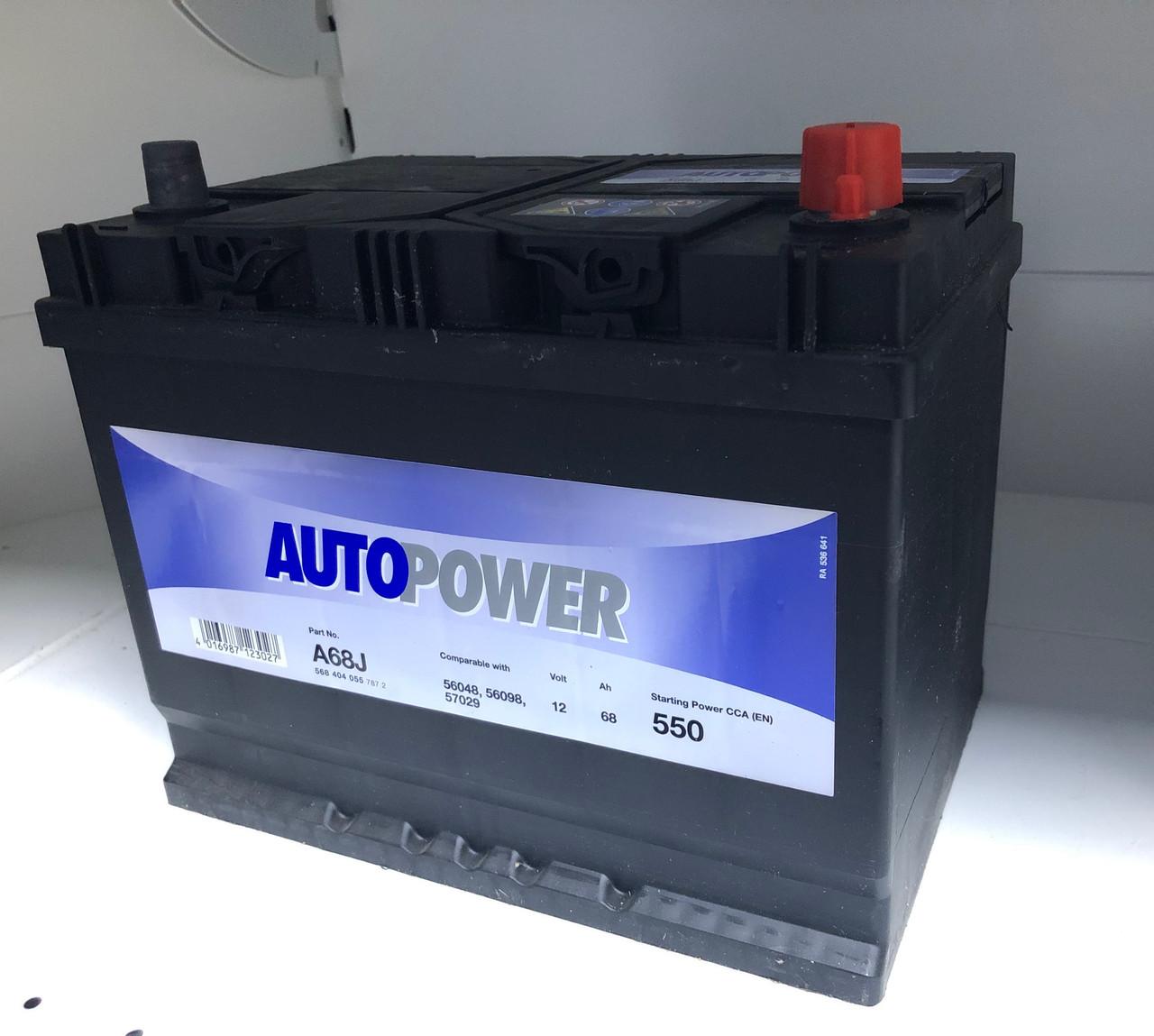 Аккумулятор AUTOPOWER 68 Ah 568 404 055