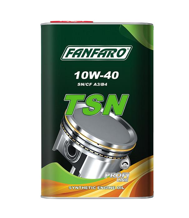 Моторное масло FANFARO TSN 10W-40 1L.