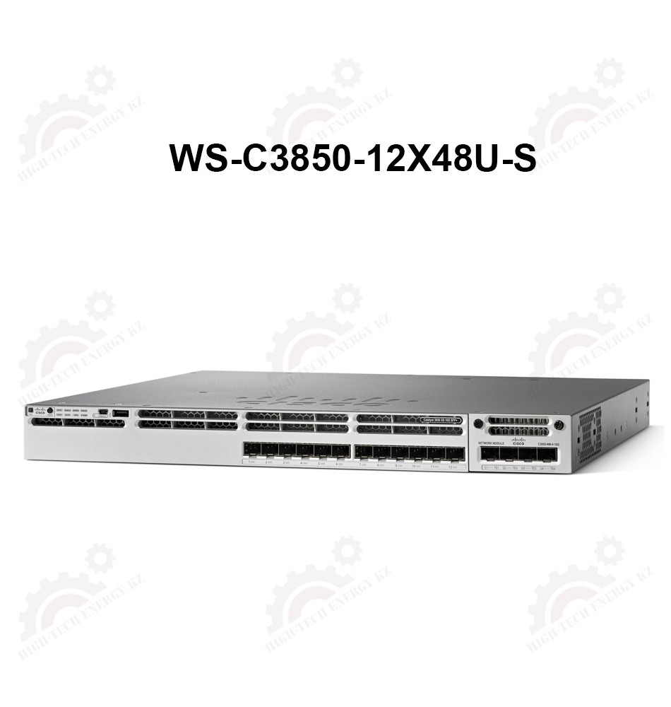 Cisco Catalyst 3850 48 Port (12 mGig+36 Gig) UPoE IP Base