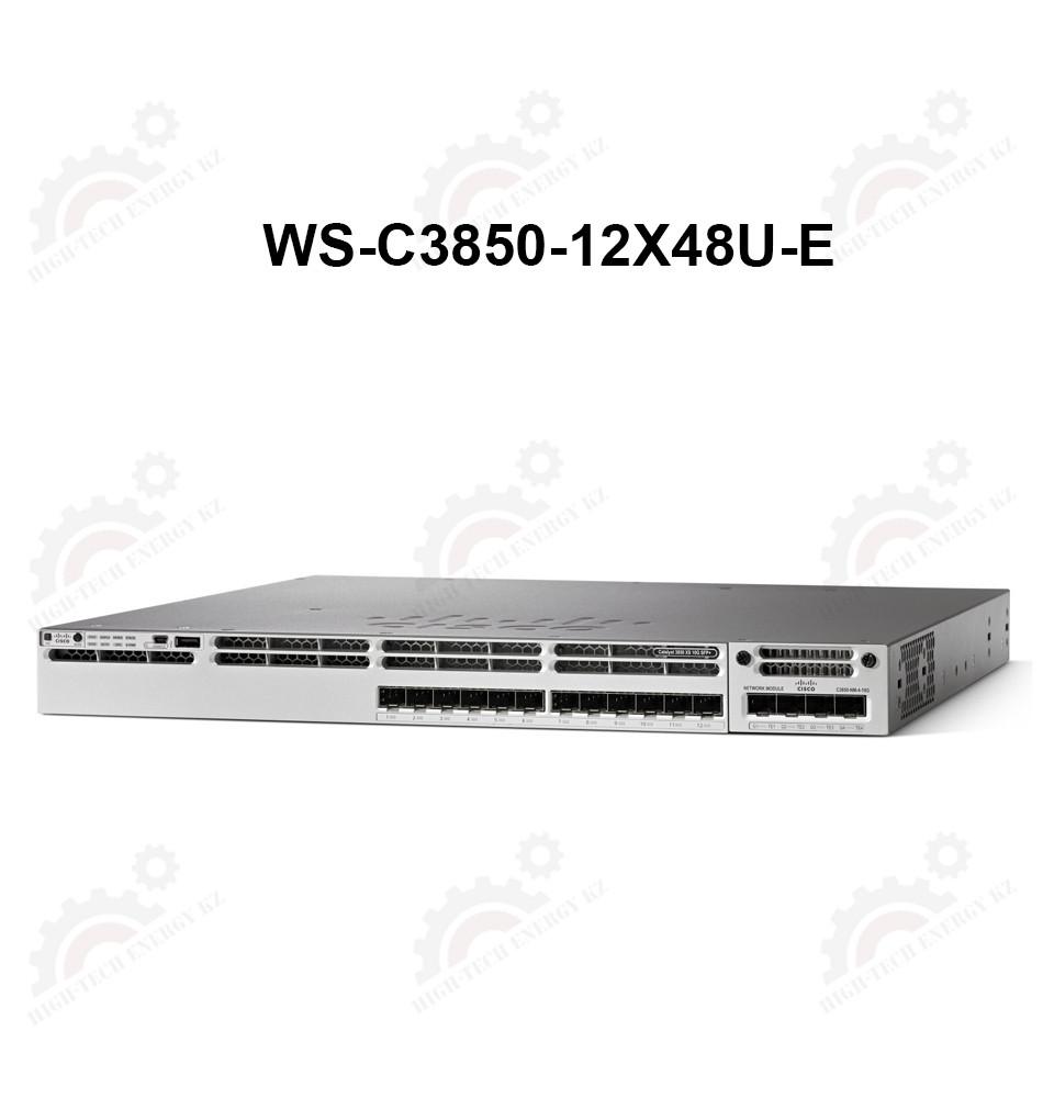 Cisco Catalyst 3850 48 Port (12 mGig+36 Gig) UPoE IPServices