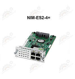 4-port Layer 2 GE Switch Network Interface Module