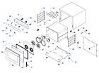 Печь конвекционная PIRON PF5004P с пароувлажнением (4 противня 480х345. 3,3кВт, 600х600х540), фото 2