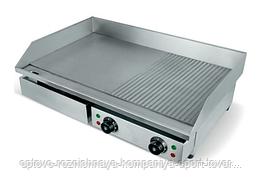 Поверхность жарочная WY-822 (730х510х245 мм, 4,4 кВт, 220 В, комбиниров. жароч. поверхн., нерж)