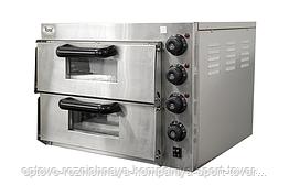 Печь для пиццы электрическая EP2PT (560х570х440мм, внутр.размер 415х400х120мм(2шт), t 0~350°С, 3 кВт. 220В)