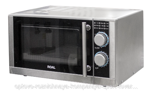 Печь микроволновая P90025L-T2 ROAL (483х430х281мм,25л,1,4кВт, нерж, СВЧ+гриль, 220В)