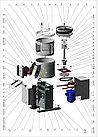 Картофелечистка МОК-300М (650x450x870мм, загрузка не более 10 кг, 300кг/ч, 0,75кВт, 380В, масса 47кг), фото 2