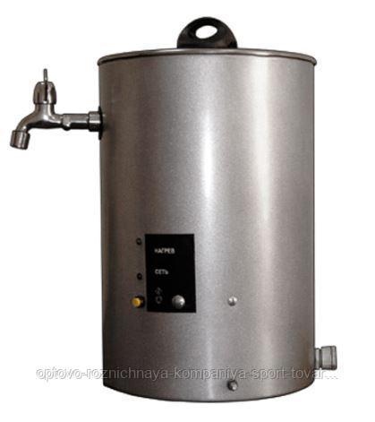 Кипятильник электрический непрерывного действия КНЭ-100-01 нерж. (250х250х360мм, 10кВт, 100±10л/час, 380В, 6,0