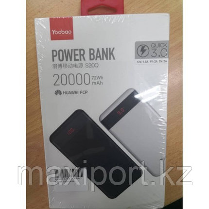 Power Bank Yoobao s20Q  20000mAh, фото 2