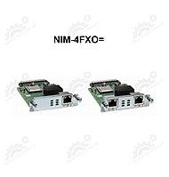 4-port Network Interface Module - FXO (Universal)