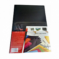 Картон для переплета, А4 ,230  мк 100л.черный