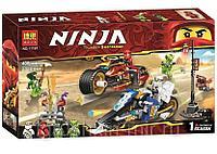 11161 Ниндзяго конструктор 400дет Ninja Thunder Swordsman 39*22см, фото 1