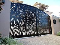 Декоративные, дизайнерские ворота