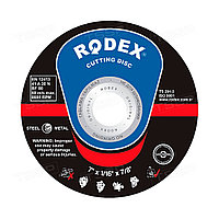Диск шлифовальный по металлу Rodex 230*6,0*22мм SRS6230