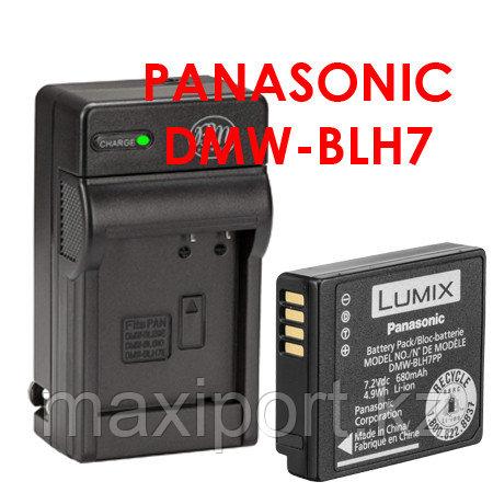 Зарядка panasonic lumix blh7 DMW-BLH7