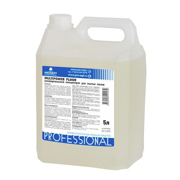 Концентрат для мытья полов (универсал) Multipower FLOOR 5 л.