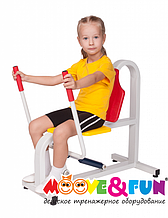 Детский тренажер Жим от груди (MF-E06)