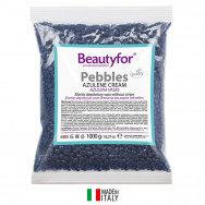 Воск в гранулах Азуленовый синий, 1000 г, Beautyfor