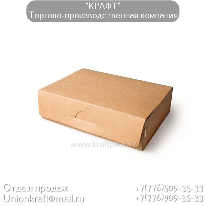 Короб для суши, быстросборный 700 мл 165*115*45 (Eco Tabox New 700) DoEco (50/300)