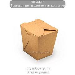 Коробочка для плова, лагмана, лапши WOK 460мл (Eco Noodles 460gl) DoEco (105/420)