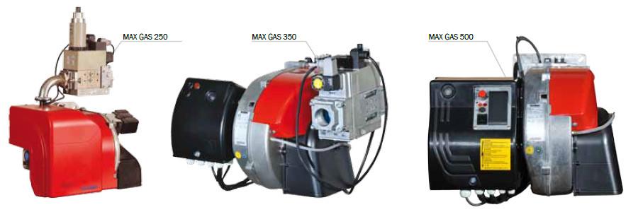 Газовая горелка Ecoflam MAX GAS 500 PAB - фото 3