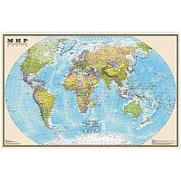 """Карта """"Мир"""" политическая DMB, 1:25млн., 1220*790мм"""