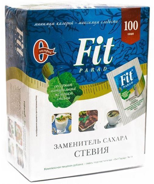 Заменитель сахара «ФитПарад №14», 100 пак.
