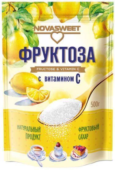 Фруктоза с витамином С, 500 г