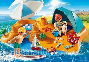 Детский Конструктор Playmobil «Семья на пляже»