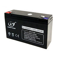 Аккумулятор XINGYUAN 6v 12Ah для детских машин