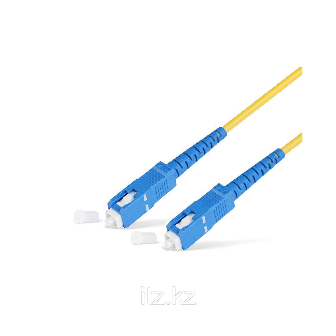 Патч Корд Оптоволоконный SC/UPC-SC/UPC SM 9/125 Simplex 2.0мм 2 м
