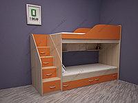 """Детская двухъярусная кровать """"Дакота"""""""