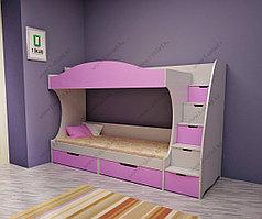 """Детская двухъярусная кровать """"Мика"""""""