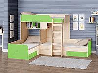 Двухъярусная кровать Трио, фото 1