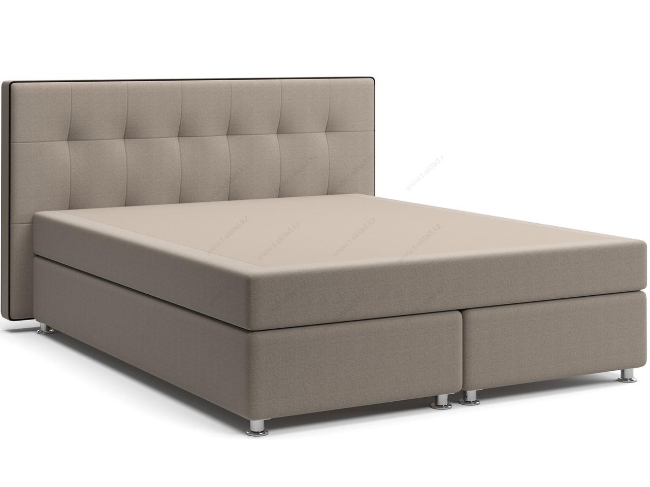 Кровать с матрасом на зависимых пружинах Нелли Spring Box