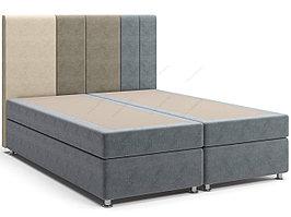 Кровать с матрасом на зависимых пружинах Скала Spring Box