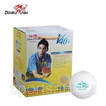 Шарики для настольного тенниса double fish 40+ 100шт