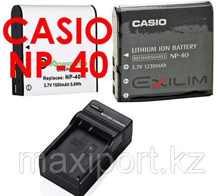 Зарядка casio np-40 NP-40