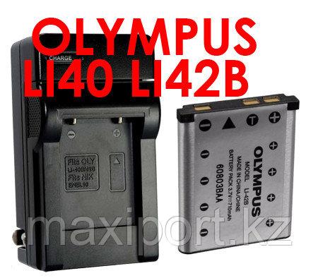 Зарядка olympus li42 LI-40 LI-42B, фото 2