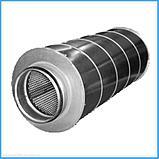 Шумоглушитель  трубчатый круглый 100 - 980 серия 5.904 - 17, фото 6